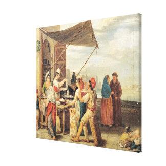 The Italian Market Canvas Print