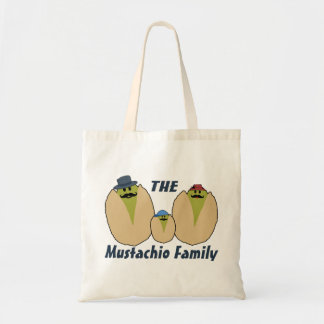 The Italian Mustachio Family Tote Bag