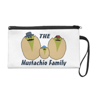 The Italian Mustachio Family Wristlet
