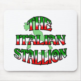 The Italian Stalion Mouse Pad