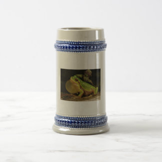 The Italian Tree Frog Hyla Intermedia Beer Stein