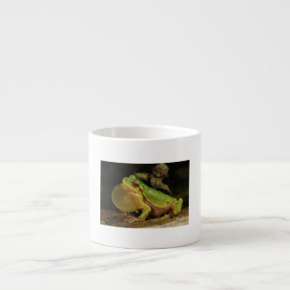 The Italian Tree Frog Hyla Intermedia Espresso Cup
