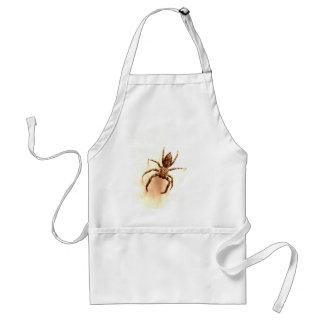 the itsy bitsy spider adult apron
