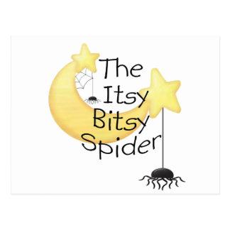 The itsy Bitsy Spider Postcard
