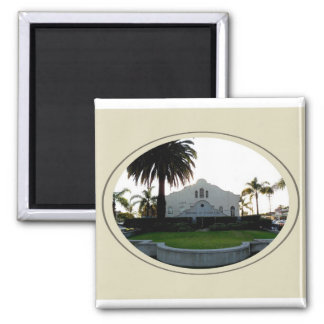 The Ivy Substation 2 Inch Square Magnet