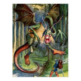 The Jabberwock Post Cards