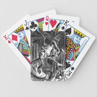 The Jabberwocky Bicycle Playing Cards