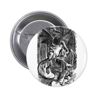 The Jabberwocky Pinback Buttons