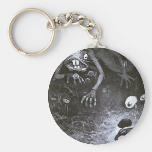 The Jabberwocky Keychain