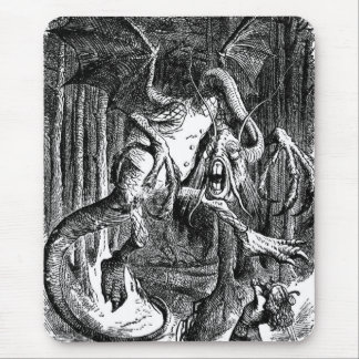 The Jabberwocky Mouse Pad