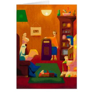the jack benny show -blank card