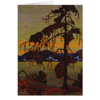 The Jack Pine Greeting Card