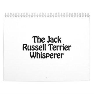 the jack russell terrier whisperer calendar