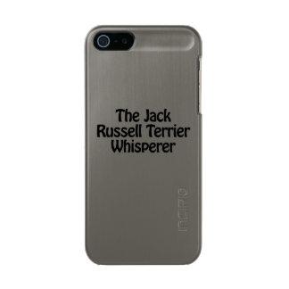 the jack russell terrier whisperer metallic phone case for iPhone SE/5/5s