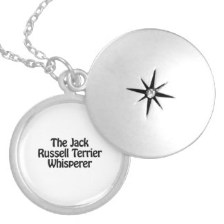the jack russell terrier whisperer round locket necklace