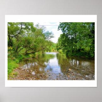 The Jackson River,Hidden Valley,Virginia Poster