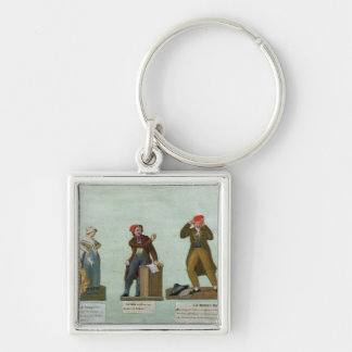 The Jacobin Knitters Keychain