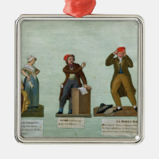 The Jacobin Knitters Metal Ornament