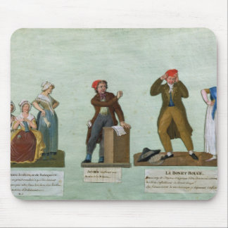 The Jacobin Knitters Mouse Pad