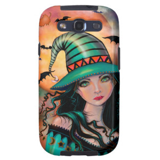 The Jade Witch Halloween Fantasy Art Samsung Galaxy S3 Cover