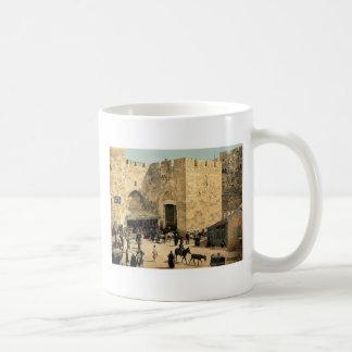 The Jaffa Gate, Jerusalem, Holy Land classic Photo Coffee Mug