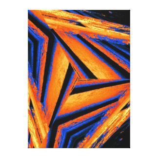 The Jagged Edge Canvas Print