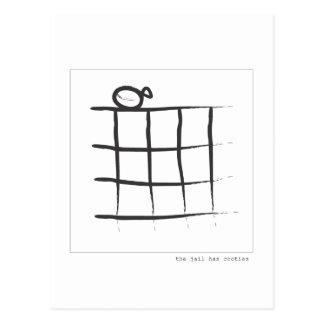 The Jail Has Cooties Postcard