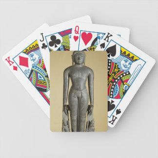 The Jain Tirthankara, Parsvanatha, Rajasthan, Prat Bicycle Playing Cards