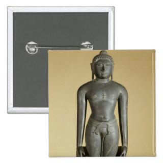The Jain Tirthankara, Parsvanatha, Rajasthan, Prat Button
