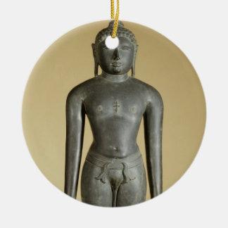 The Jain Tirthankara, Parsvanatha, Rajasthan, Prat Ceramic Ornament