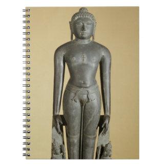 The Jain Tirthankara, Parsvanatha, Rajasthan, Prat Notebook