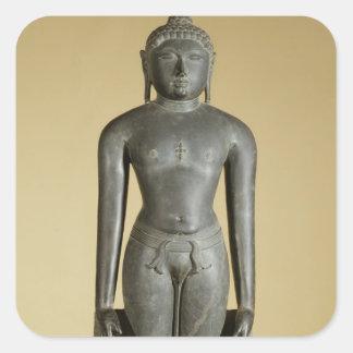 The Jain Tirthankara, Parsvanatha, Rajasthan, Prat Square Sticker