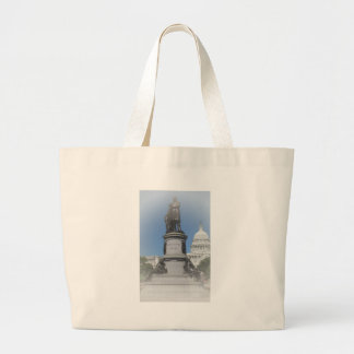 The James A Garfield Monument Large Tote Bag