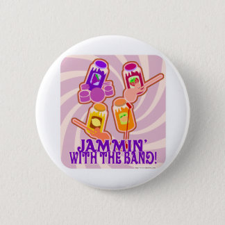 The Jammin Jam Band Button