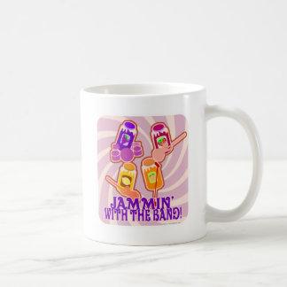 The Jammin Jam Band Coffee Mug