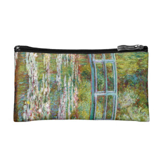 The Japanese Bridge 1899 Claude Monet Cosmetic Bag