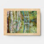 The Japanese Bridge 1899 Claude Monet Envelope