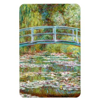 The Japanese Bridge 1899 Claude Monet Rectangular Photo Magnet