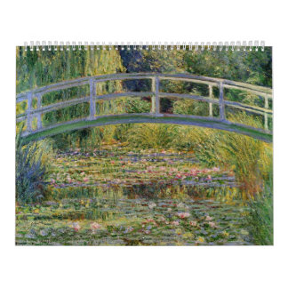 The Japanese Bridge by Claude Monet Calendar