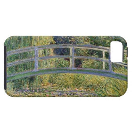 The Japanese Bridge by Claude Monet iPhone 5 Case