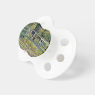 The Japanese Bridge by Claude Monet Baby Pacifiers