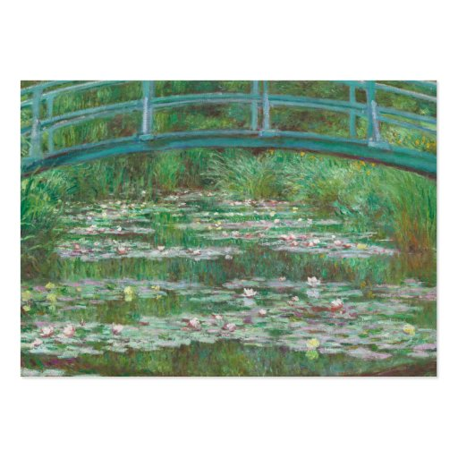The Japanese bridge Claude Monet Business Cards