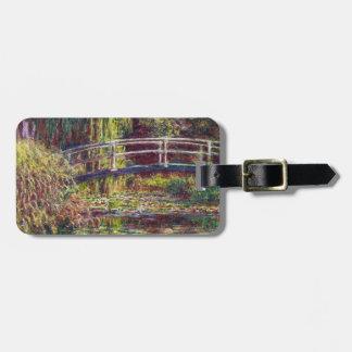 The Japanese Bridge Claude Monet cool, old, master Luggage Tag