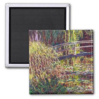The Japanese Bridge Claude Monet cool, old, master Magnet