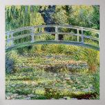 The Japanese Bridge Claude Monet Fine Art Print