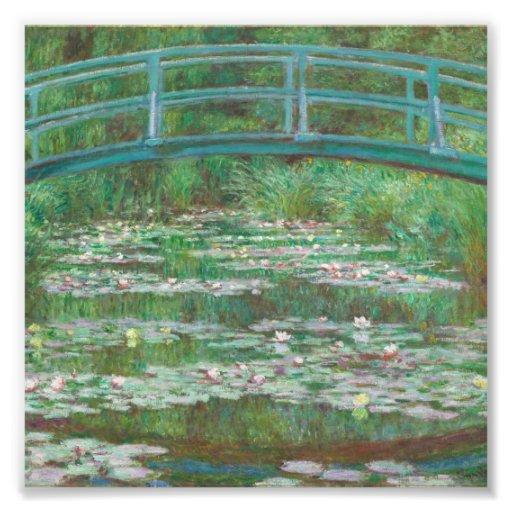 The Japanese bridge Claude Monet Photo Print