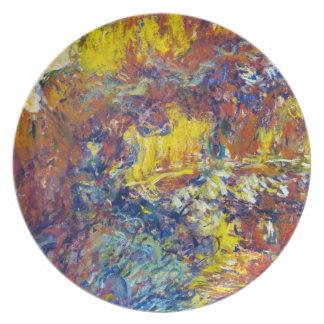 The Japanese Bridge Claude Monet Dinner Plates