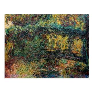 The Japanese Bridge - Claude Monet Postcard