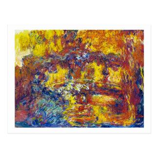 The Japanese Bridge Claude Monet Postcard