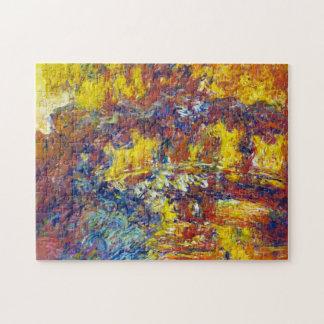 The Japanese Bridge Claude Monet Jigsaw Puzzle